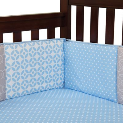 Trend Lab® Logan 4-Piece Crib Bumper Set