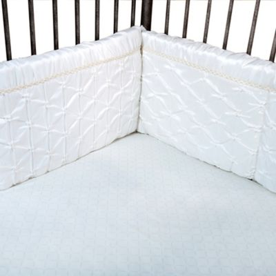 Trend Lab® Marshmallow 4-Piece Crib Bumper Set