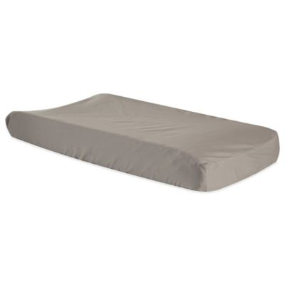 Ombre Grey Changing Pad Cover