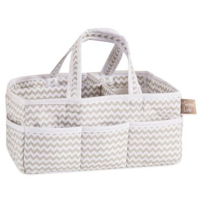 Trend Lab® Ombre Grey Chevron Diaper Caddy