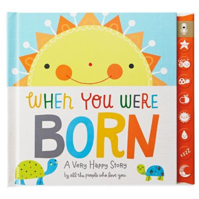 "Hallmark ""When You Were Born"" Recordable Memory Album"