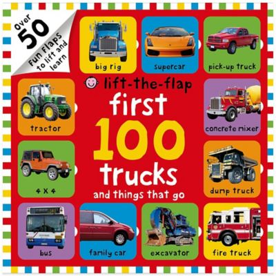 First 100 Trucks and Things That Go Board Book