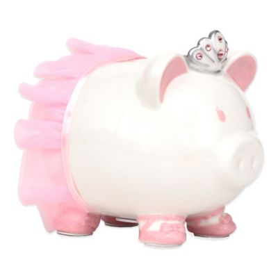 Piggy Bank with Swarovski® Accents