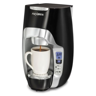 Coffee Maker On Clearance : Hamilton Beach FlexBrew Programmable Single-Serve Coffee Maker - www.BedBathandBeyond.ca