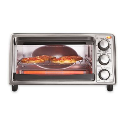 Black + Decker™ 4-Slice Toaster Oven