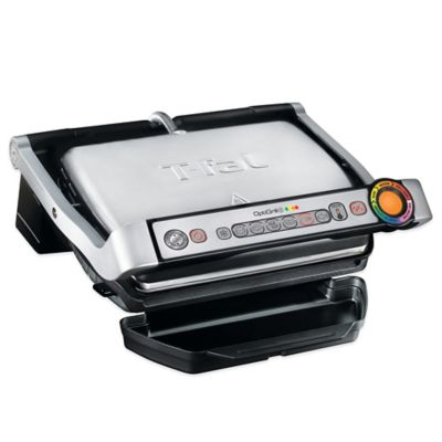 T-Fal® OptiGrill Plus™ Stainless Steel Indoor Electric Grill