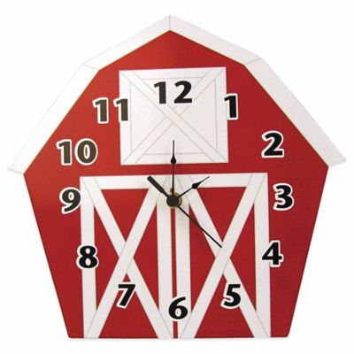 Trend Lab® Baby Barnyard Barn Wall Clock