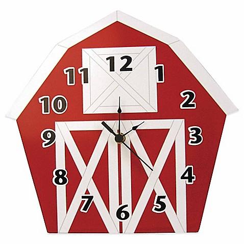 Barnyard Animals Kitchen Wall Clock