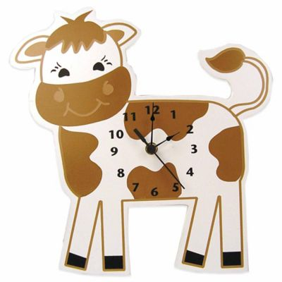 Trend Lab® Baby Barnyard Cow Wall Clock