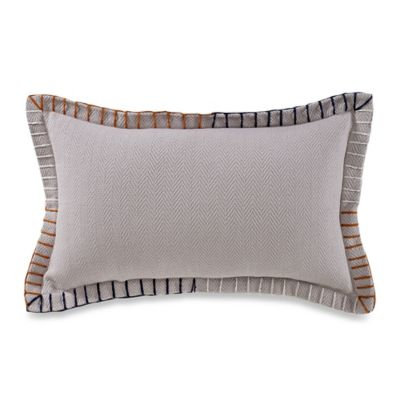 Studio 3B™ by Kyle Schuneman Milo Blanket Stitch Oblong Throw Pillow