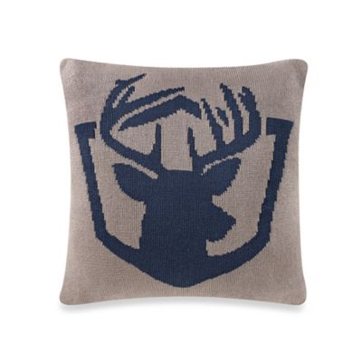 Studio 3B™ by Kyle Schuneman Milo Deer Head Square Throw Pillow