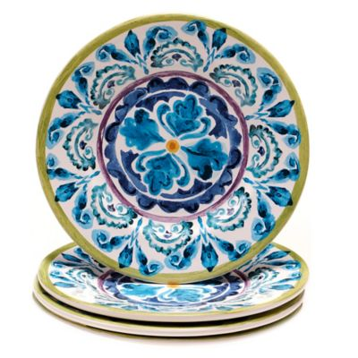 Certified International Mood Indigo Salad Plates (Set of 4)