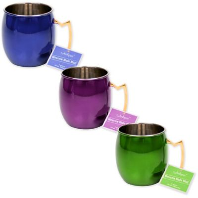 Moscow Mule Mug in Purple