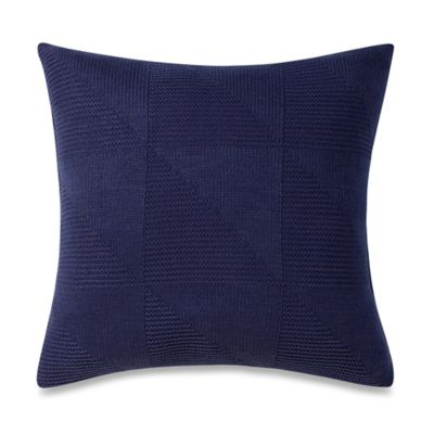 Studio 3B™ by Kyle Schuneman Atticus Square Throw Pillow in Navy