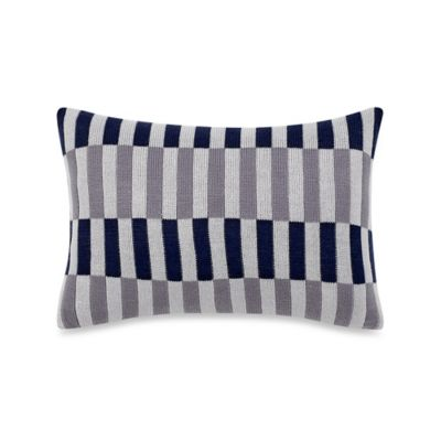 Studio 3B™ by Kyle Schuneman Atticus Oblong Throw Pillow in Navy