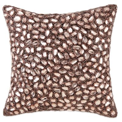 Waterford Couture® Luxury Italian-Made Fleurology Square Throw Pillow
