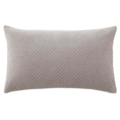 Waterford Couture® Luxury Italian-Made Fleurology Textured Oblong Throw Pillow