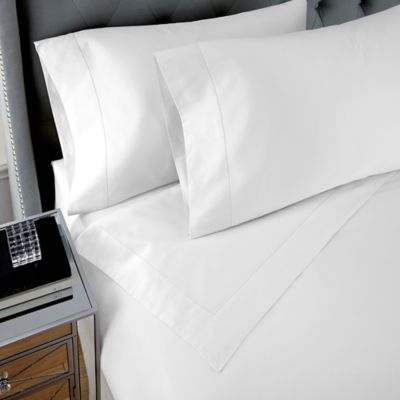 Waterford Couture® Luxury Italian-Made Pippa Ogee Queen Sheet Set in Ivory