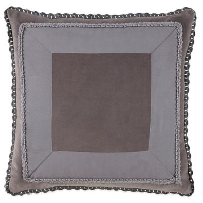 Waterford Couture® Luxury Italian-Made Ogee Square Throw Pillow