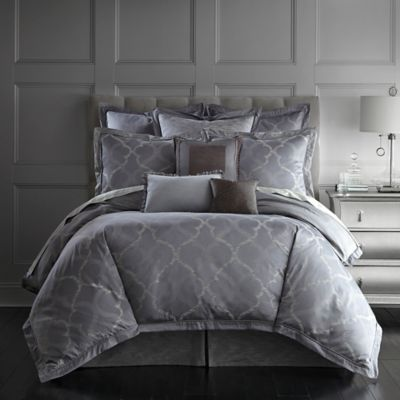 Waterford Couture® Luxury Italian-Made Ogee California King Bed Skirt