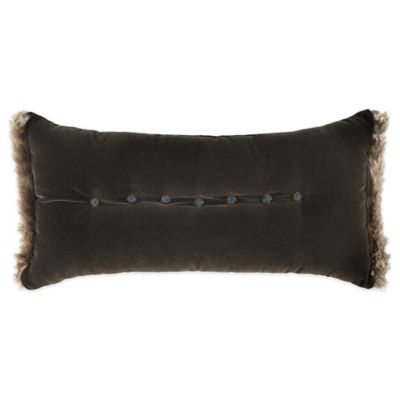 Waterford Couture® Luxury Italian-Made Trentino Breakfast Throw Pillow in Ash Grey