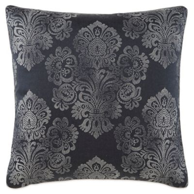 Waterford Couture® Luxury Italian-Made Trentino Square Throw Pillow in Ash Grey