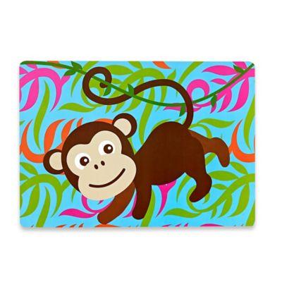 Sam Hedaya Kids Monkey Placemat