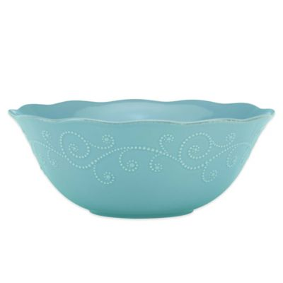 Lenox® French Perle Serving Bowl in Robins Egg
