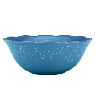 Lenox® French Perle Serving Bowl in Marine Blue