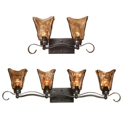 Uttermost Vetraio 2-Light Wall-Mount Vanity Strip in Oil Rubbed Bronze