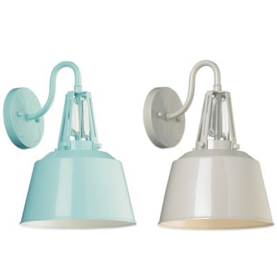 Hi Gloss Grey Outdoor Lighting