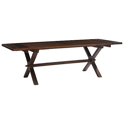 Zuo Laurel Heights Dining Table In Distressed Natural Bed Bath