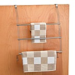 Better Bath® Chrome Over-the-Door Towel Organizer