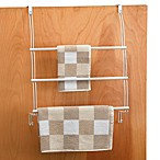 Better Bath® White Over-the-Door Towel Organizer