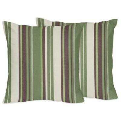 Sweet Jojo Designs Ethan Throw Pillows (Set of 2)