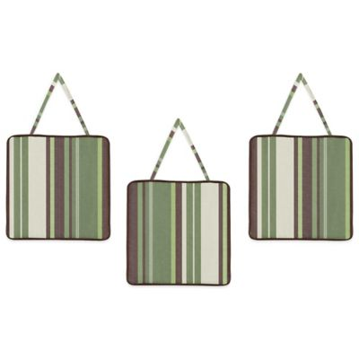 Sweet Jojo Designs Ethan Wall Décor (Set of 3)