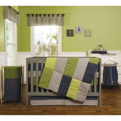 Trend Lab® Perfectly Preppy 3-Piece Crib Bedding Set