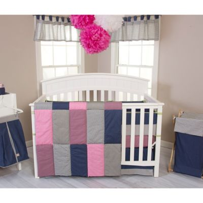 Trend Lab® Perfectly Pretty 3-Piece Crib Bedding Set