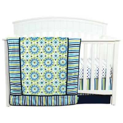 Waverly® Baby by Trend Lab® Solar Flair 3-Piece Crib Bedding Set