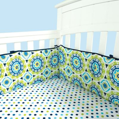 Waverly® Baby by Trend Lab® Solar Flair 4-Piece Crib Bumper Set