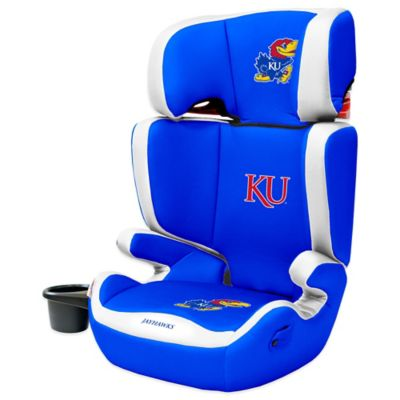 Lil Fan Kansas University High Back Booster Seat