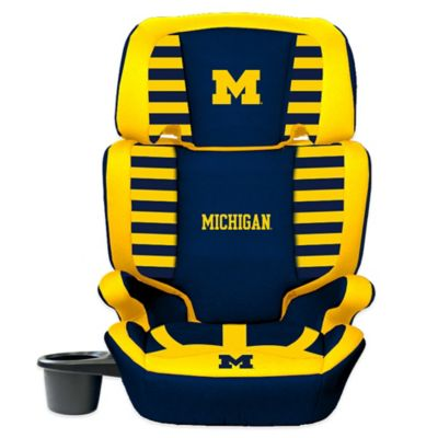 Lil Fan University of Michigan High Back Booster Seat