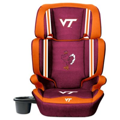 Lil Fan Virginia Tech University High Back Booster Seat