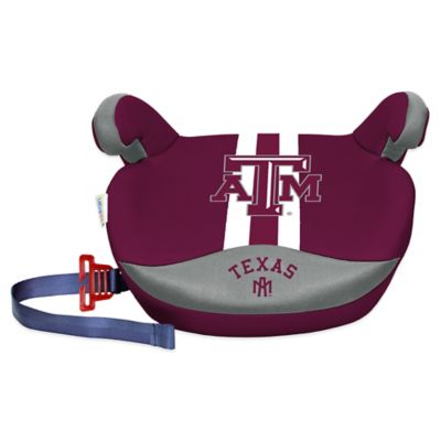 Texas A&M University No Back Slimline Booster Seat - from Lil Fan