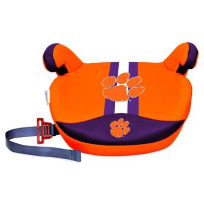Clemson University No Back Slimline Booster Seat