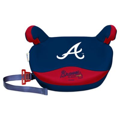 MLB Atlanta Braves No Back Slimline Booster Seat - from Lil Fan