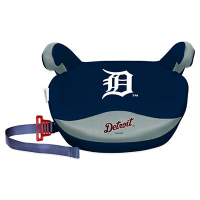 MLB Detroit Tigers No Back Slimline Booster Seat