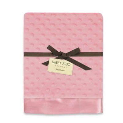Pink Minky Dot