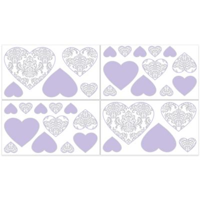 Lavender Wall Decals