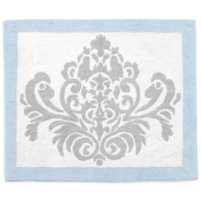 Sweet Jojo Designs Avery Rug in Blue and Grey